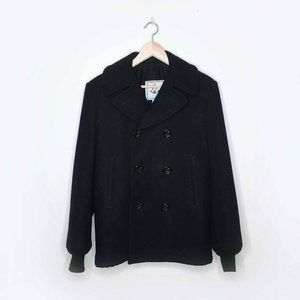 Vintage Sterlingwear US Military Wool Pea Coat